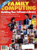 Family Computing Magazine Cover - January 1986